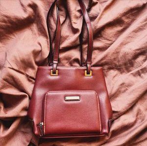 Minicci maroon handbag purse